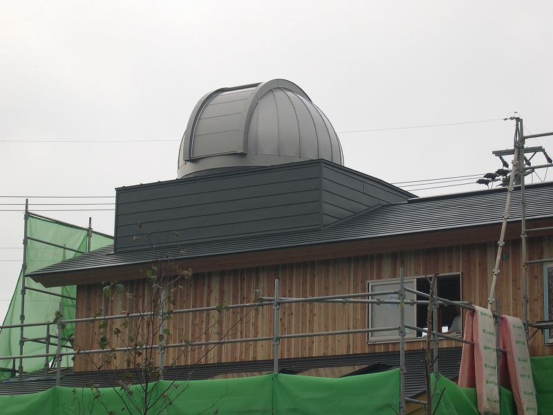 長野県個人様 2.6mドーム
