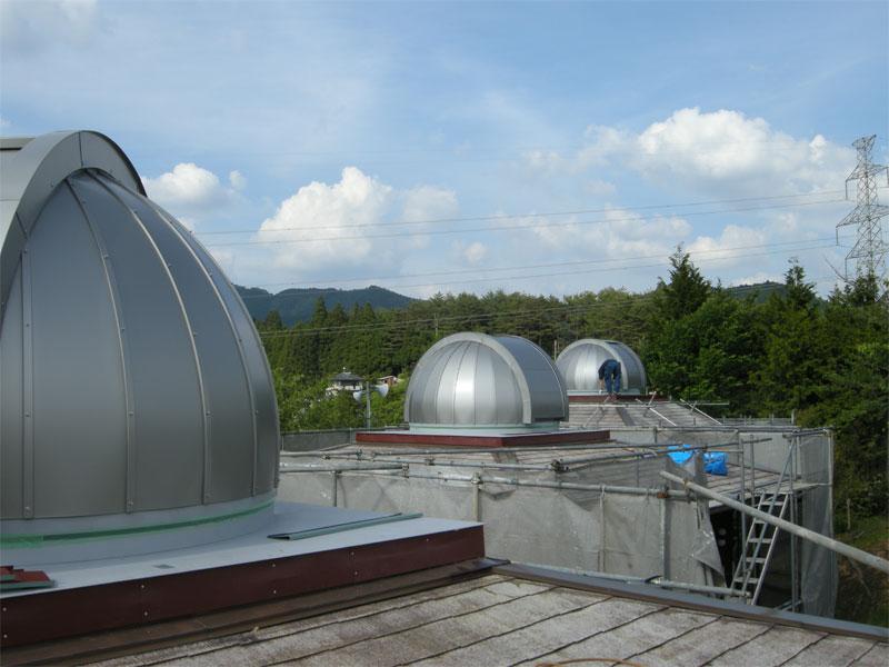 大塔コスミックパーク星のくに 2.6mドーム x 3基