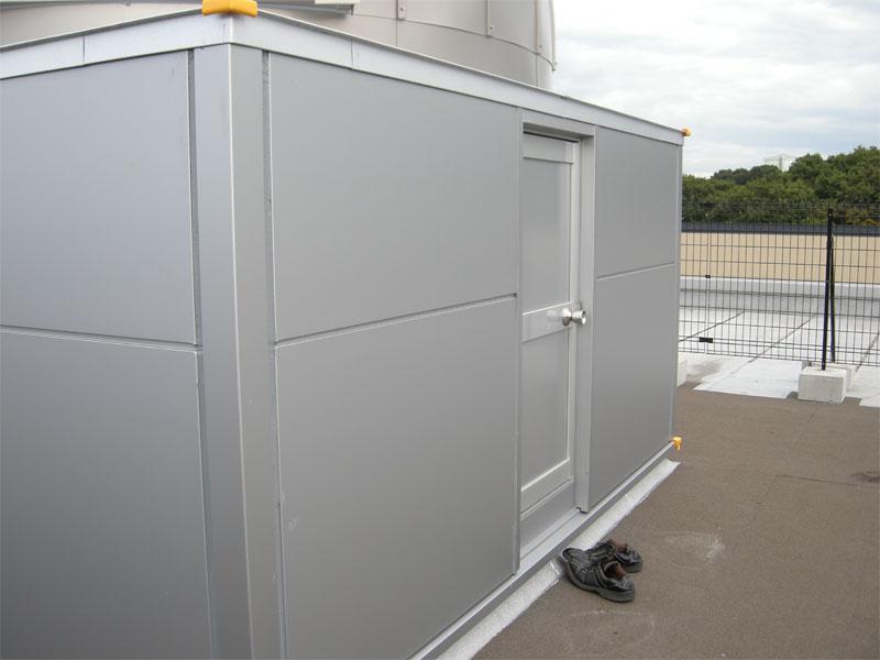 奈良学園様 耐火観測室詳細 3.0mドーム