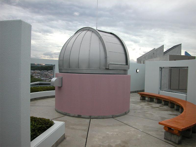兵庫県 マンション屋上 3.0mドーム