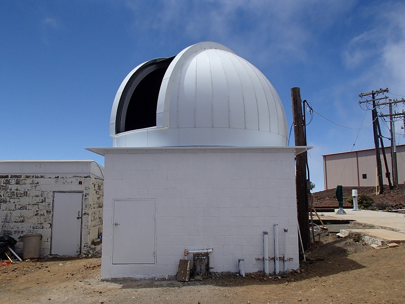 東北大学様ハワイハレアカラ山頂 5.0mドーム