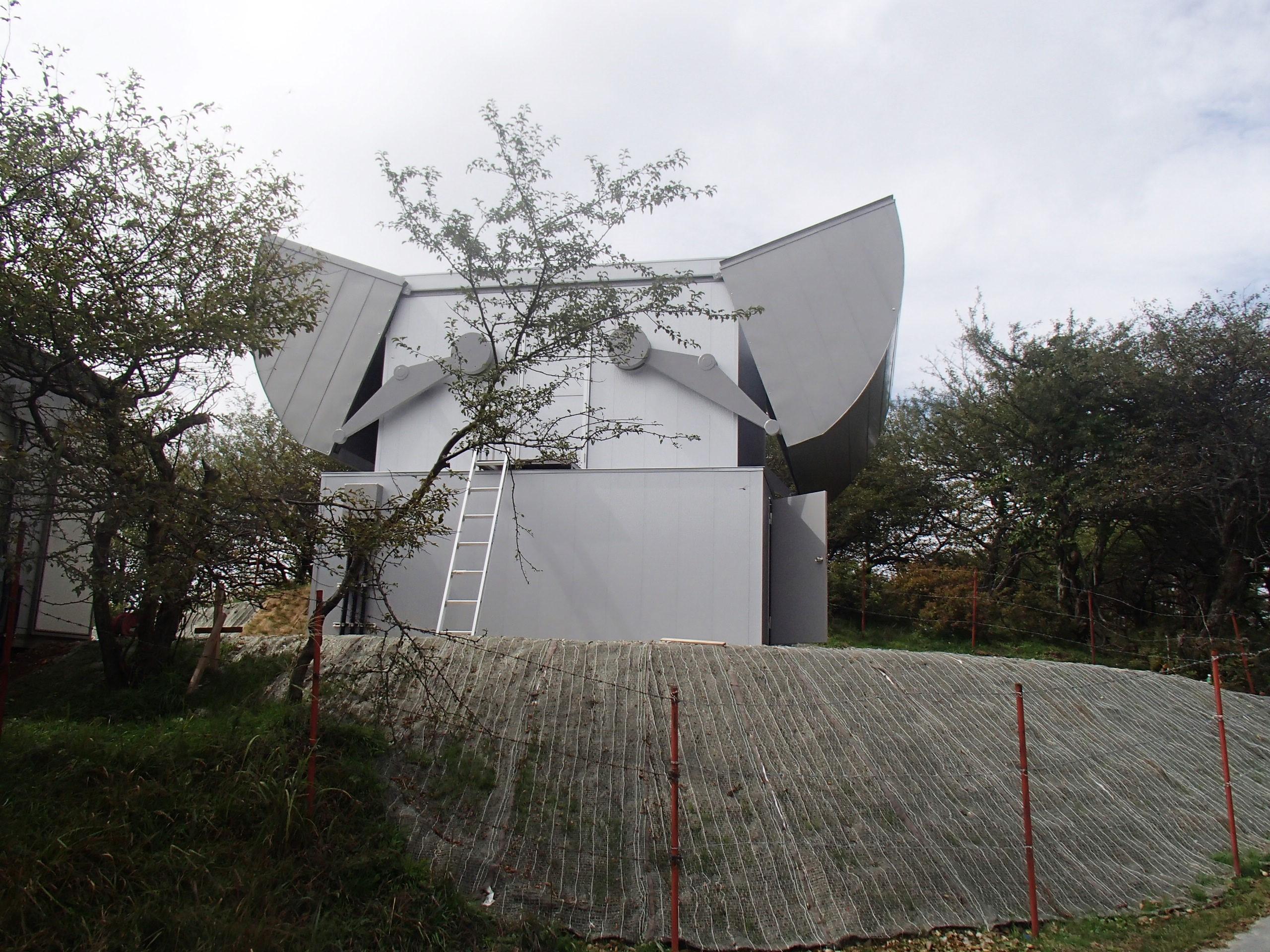 JAXA様 特殊形状観測室
