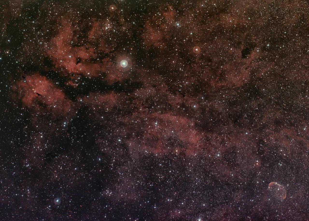 白鳥座 サドル付近(IC1318)